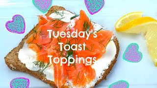 Tuesday's Toast Topping - Salmon, Dill And Lemon