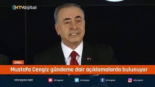 CANLI - Galatasaray Başkanı Mustafa Cengiz basın toplantısı düzenliyor