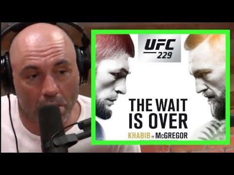 Joe Rogan Hypes Conor McGregor vs Khabib - YouTube