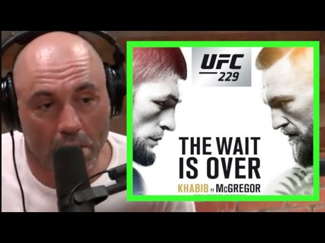 Joe Rogan Hypes Conor McGregor vs  Khabib