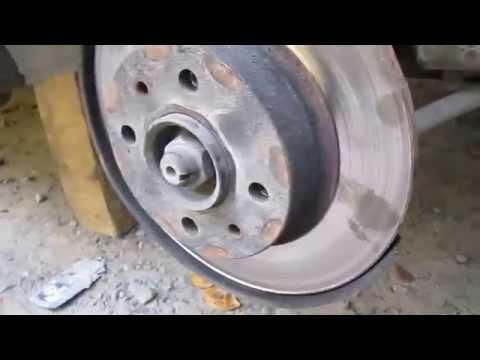 Как снять тормозной диск со ступицы ваз 2109 видео