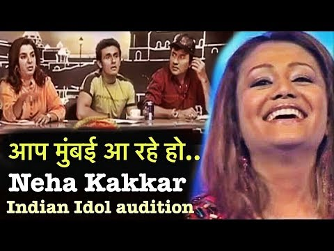 Omg Neha Kakkar Reaction After Selected In Audition In Indian Idol 2 Song Tinka Tinka Jara Jara Youtube