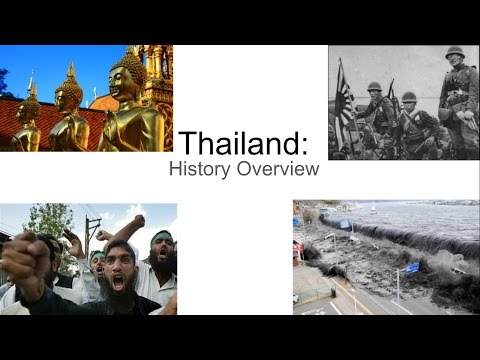 Thailand: History Overview