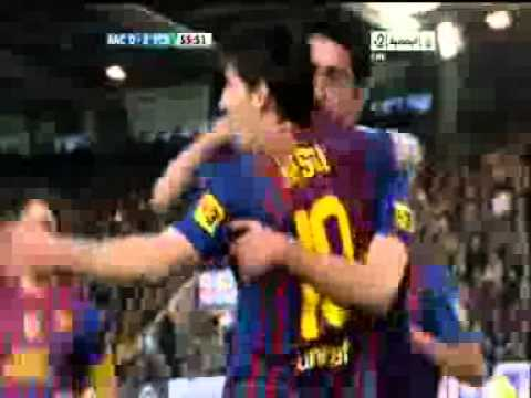 FC Barcelona 2-0 Racing Santander Travel Video
