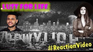 Lana Del Rey - Lust For Life (Official Audio) ft. The Weeknd | REACTION Video!!!