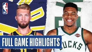 Gambar cover PACERS at BUCKS | FULL GAME HIGHLIGHTS | March 4, 2020