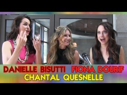 Con Men s: Fiona Dourif, Chantal Quesnel,  Danielle Bisutti on Curse of Chucky