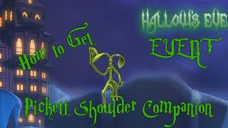 So erhalten Sie den Pickett Shoulder Companion - ROBLOX HALLOWS EVE EVENT (Robloxian Highschool)