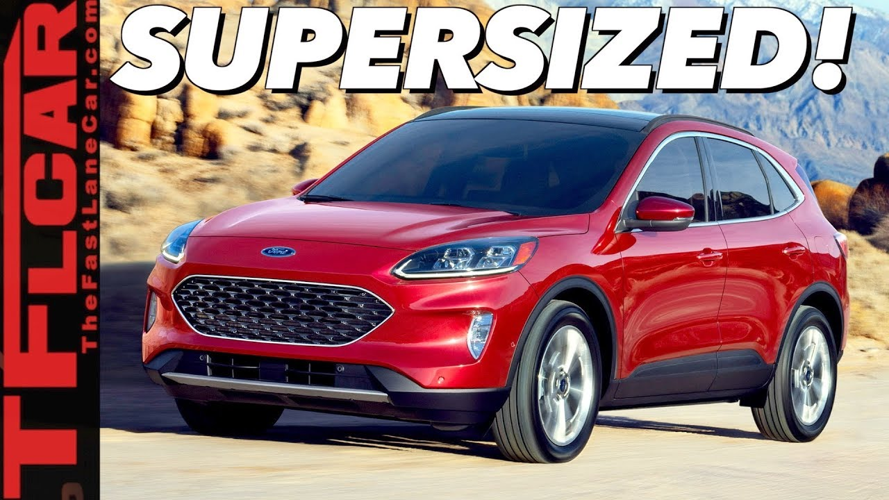 All-new 2020 Ford Escape Is Unveiled: It Has More Legroom ...