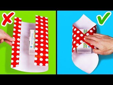 Как можно упаковать подарок