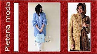 Pletena moda..Кардиган -пальто.Cardigan coat.
