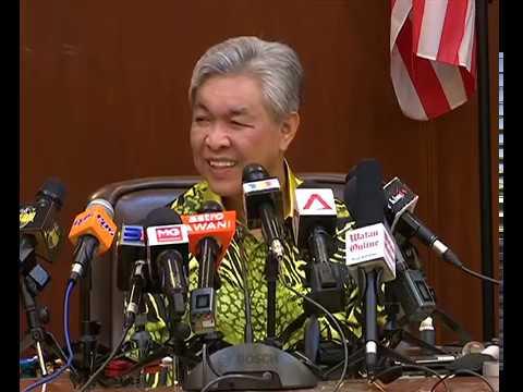 PRK Port Dickson: Sidang media UMNO