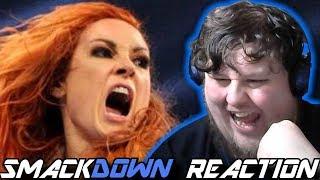 Charlotte vs. Becky vs. Carmella Winner faces Asuka at Royal Rumble: Smackdown Reaction: 08/01/2019