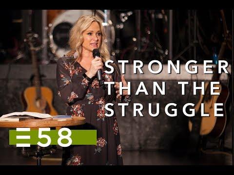 Stronger Than The Struggle | Havilah Cunnington | Expression 58