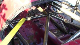 Rear Frame Rail And Front Bracing - Building A Pure Stock Race Car
