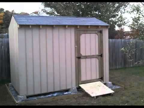 how to build a shed part 6 sheed door and ramp youtube. Black Bedroom Furniture Sets. Home Design Ideas