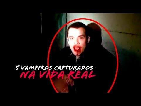 5 VAMPIROS REALES CAPTADOS EN VIDEO - CRIATURAS MAS ATERRADORAS