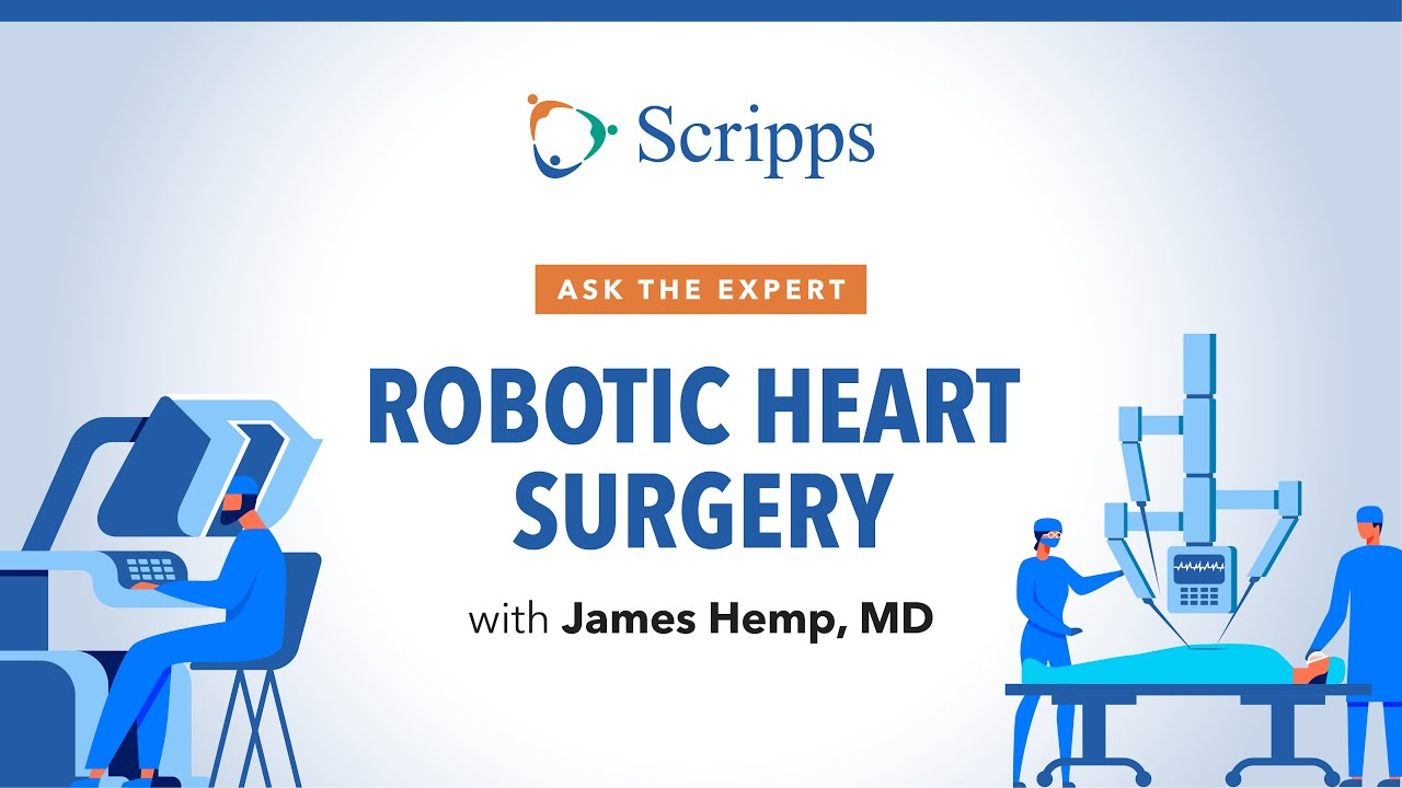 Scripps Health: What Is Robotic Heart Surgery?