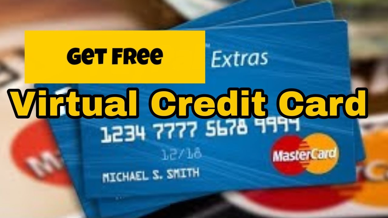 How to Get A FREE VIRTUAL VISA CREDIT CARD 8 8% working