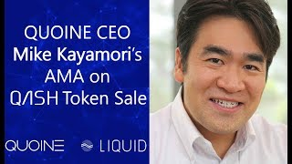 Mike's AMA about QASH Token Sale