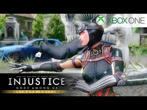 Injustice: Gods Among Us - Catwoman | Classic Battles (XBOX ONE)