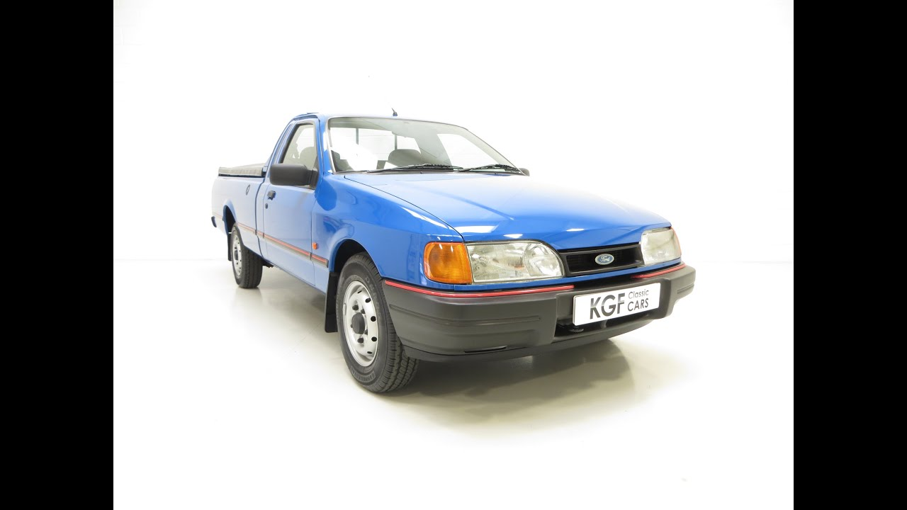 A Utilitarian and Rare Surviving Ford P100 with Just 38,632 Miles ...