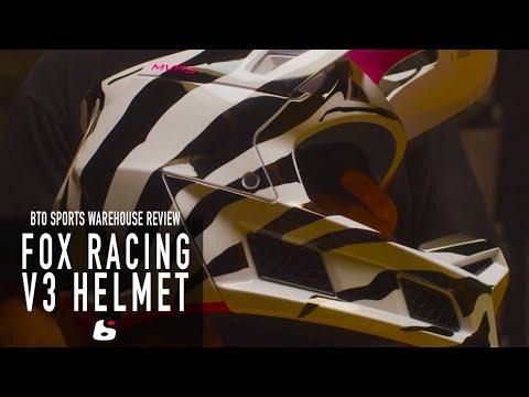 Fox Racing V3 Helmet (New) - BTO Sports Warehouse Review