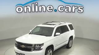 A11286GP Used 2016 Chevrolet Tahoe LT 4WD White SUV Test Drive, Review, For Sale