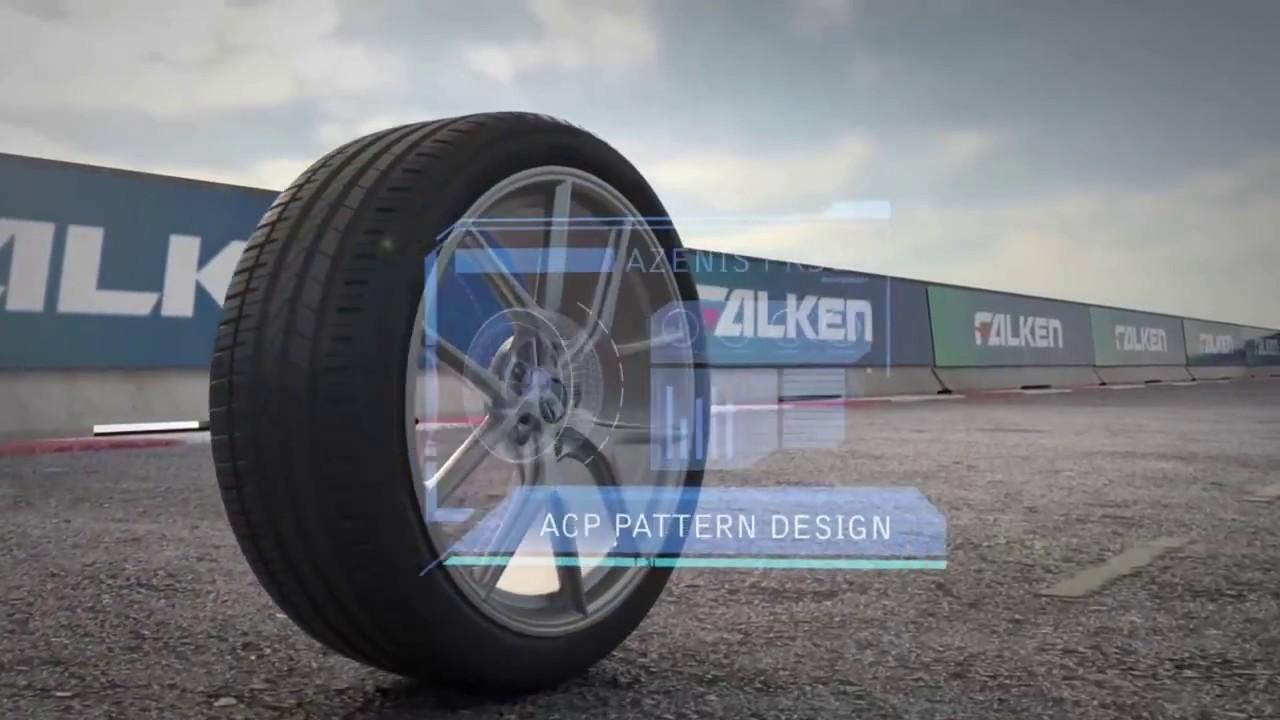 FALKEN飛隼輪胎 AZENIS FK510 形象廣告 - YouTube