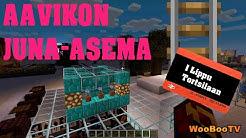 Minecraft Suomi - Rakennetaan juna-asema aavikolle