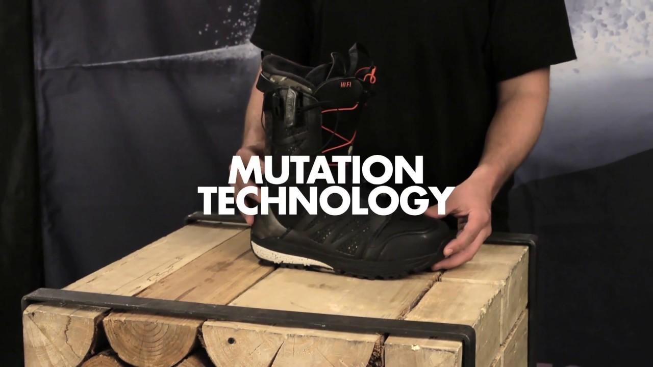 Salomon Snowboards - Mutation Technology - HiFi Boot - YouTube a917347f0ca8