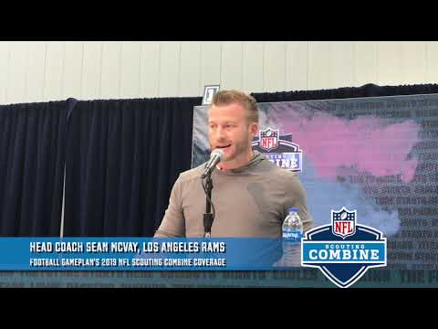 Football Gameplan's 2019 Scouting Combine Coverage: Sean McVay
