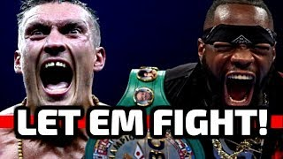 Is this the man who DEFEATS Deontay Wilder? Wilder vs Usyk!!!
