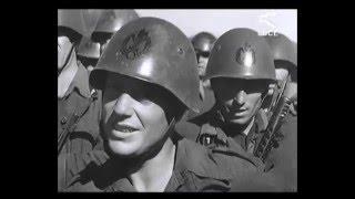 Военная кинохроника, 1942 Итальянские военные части на оккупированной территории. Ростовская область