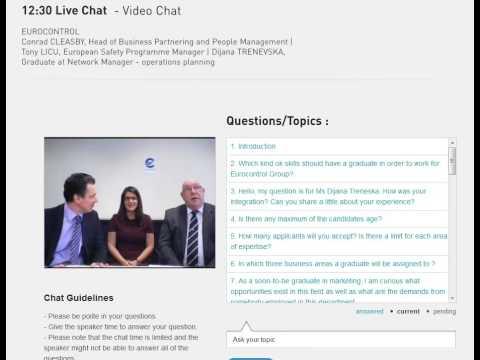 Eurocontrol 2013 Graduate Programme  Chat - 12h30