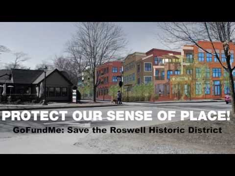 Save the Roswell Historic District
