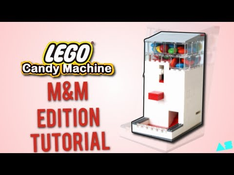 Lego Candy Machine Mm Edition Instructions Tutorial Youtube