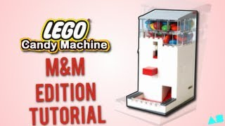 Lego Candy Machine (m&m Edition) Instructions Tutorial