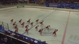 Чемпионат России по синхронному катанию KMC Короткая программа 11 Санрайз 1 SPB