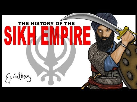 Rise and Fall of the Sikh Empire explained in less than 7 minutes (Sikh history documentary)