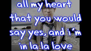 Taylor Thrash ; La La Love -Lyrics