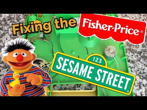 Fixing The Fisher Price Sesame St. Phonograph!
