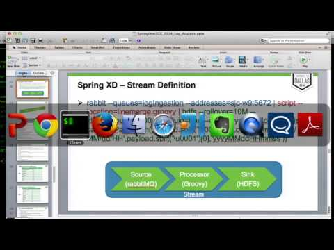 Spring XD for Real-time Hadoop Workload Analysis