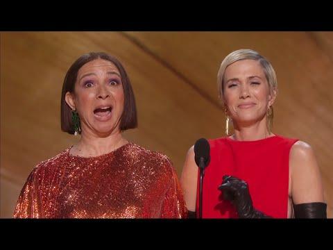 Kristen Wiig And Maya Rudolph Acting Show Off 92nd OSCARS Academy Awards [1080p]