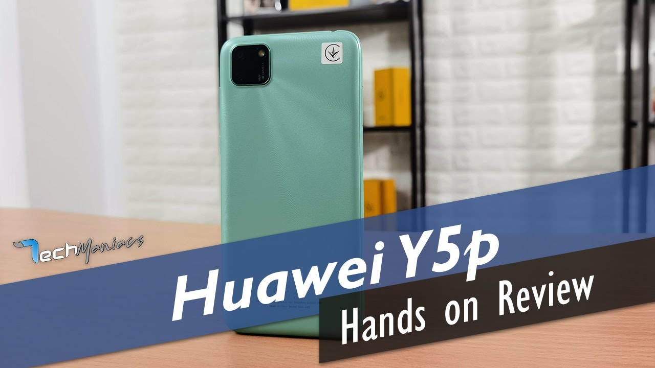 Huawei Y5p Review [Greek]