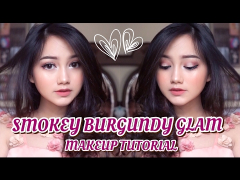 Smokey Burgundy Glam Makeup Tutorial [ENG SUB] || Modern Renaissance Palette
