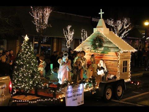 Night of Lights Parade & Christmas Tree Lighting 2014