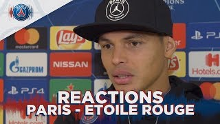 REACTIONS : PARIS 6 - 1 ETOILE ROUGE