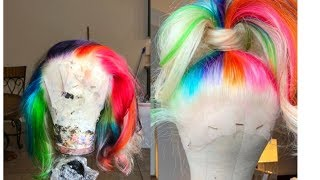ARROGANT TAE 6IX9INE INSPIRED WIG | FT. Alibele Hair