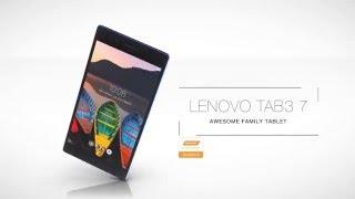 Lenovo TAB3 7 Product Tour Video